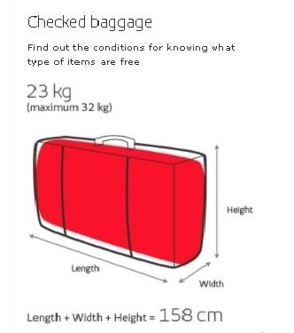 Iberia-Airlines-Checked-Baggage-Policy