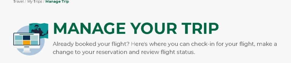 Manage Frontier Airlines Booking