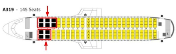 Spirit Airlines Seat Choices