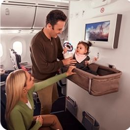 Extra-Legroom-Seats-with-Baby-Stroller