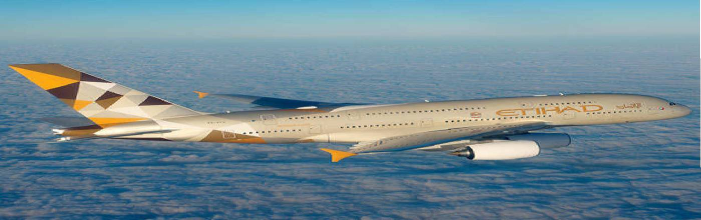 Etihad Airways Flight Boking